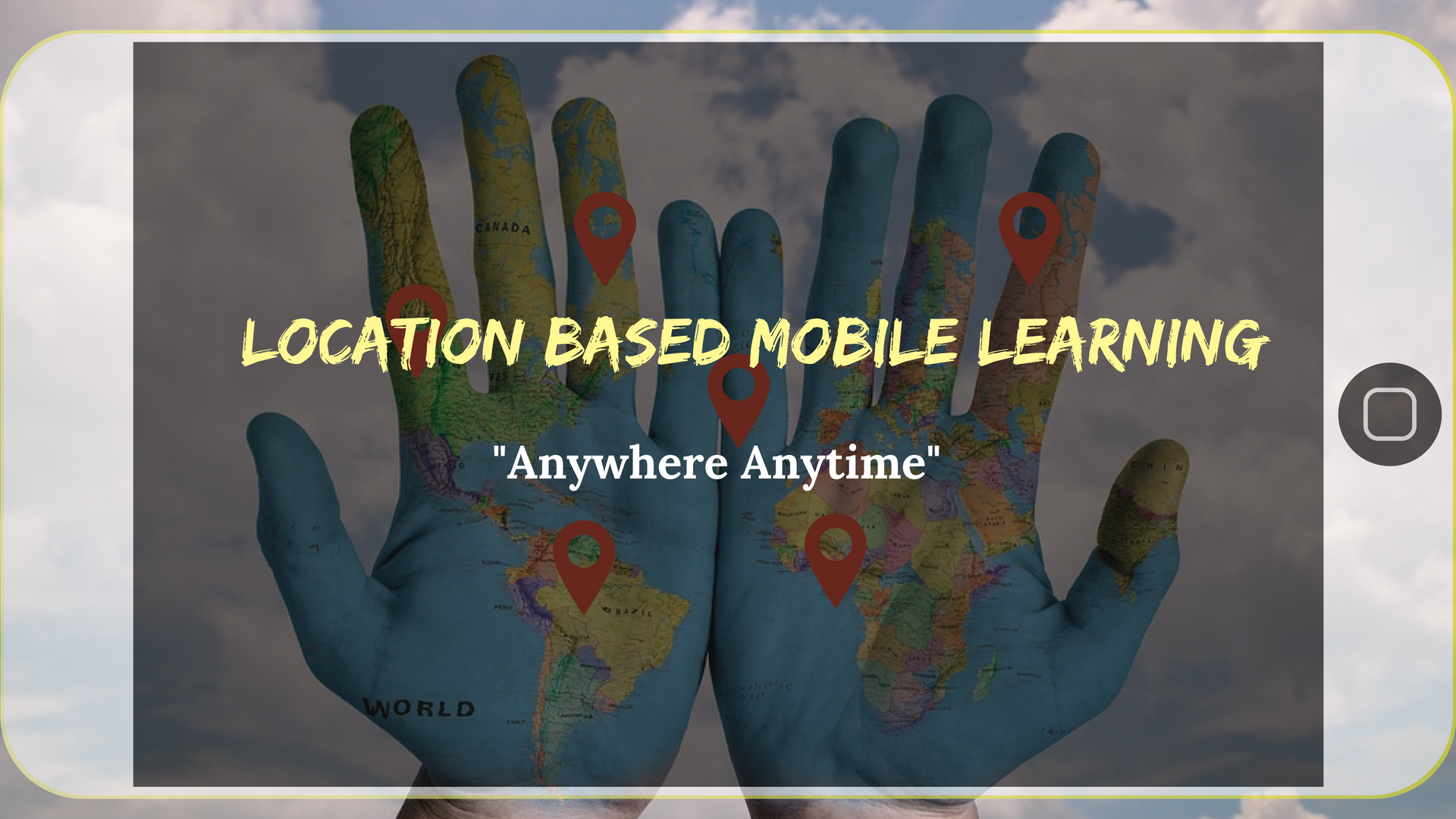 Location-based mobile learning