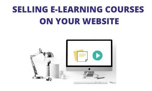 Sell eLearning Courses on your Website